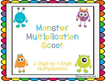 Multiplication Scoot with and without QR Codes