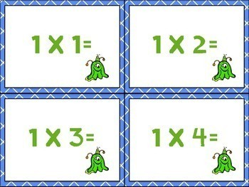 Multiplication Task Cards (3rd Grade)
