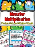 Monster Multiplication Strategy Poster, Book, and More!
