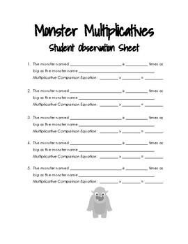 Monster Multiplicatives
