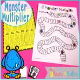 Monster Multiplier- a Multiplication Game