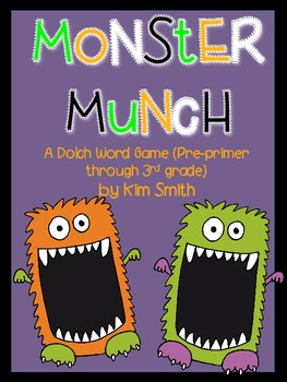 Monster Munch:  A Dolch Sight Word Game (pre-primer throug