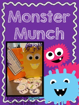 Monster Munch! An Alphabet Game