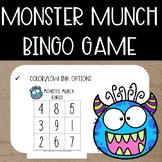 Monster Munch Math {Bingo Game}