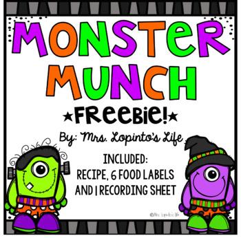 Monster Munch - Halloween Snack