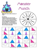 Monster Munch - Identifying Types of Triangles