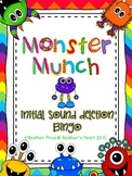 Initial Sound Deletion Monster Munch Bingo