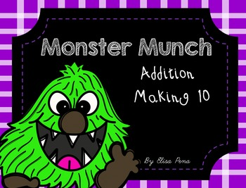 Monster Munch - Making 10 Addition Game