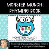 Monster Munch Shapes {Rhyming Book}