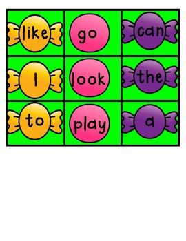 Monster Munch-sight words vs. silly words