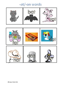 Monster Munchers Word Sort Centers