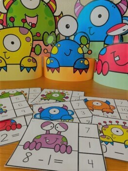 Monster Musical Chairs Mini Book & Activities