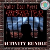 Monster (Myers) Activity BUNDLE