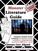 Monster (Myers) Literature Guide and Quizzes - BUNDLE