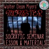 Monster (Myers) Socratic Seminar Lesson & Materials