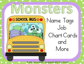 Monster Name Tags!