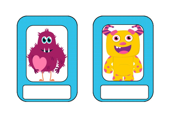 Monster Name Tags or Signs