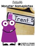 Monster Nameplates - Editable