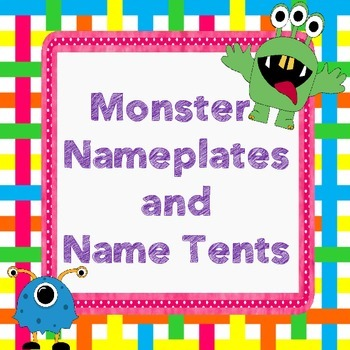 Monster Nameplates and Name Tents
