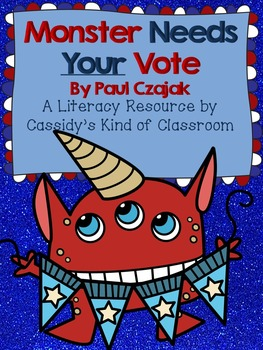 Monster Needs Your Vote Book Companion