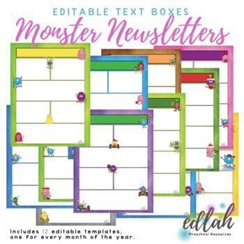 Monster Newsletter Template Mega Pack