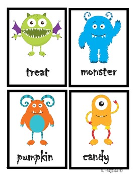 Monster Nouns and Verbs