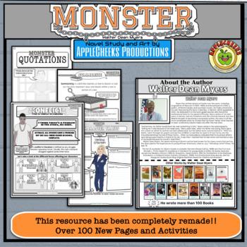 Monster Novel Study (PowerPoint Presentation) Walter Dean Myers