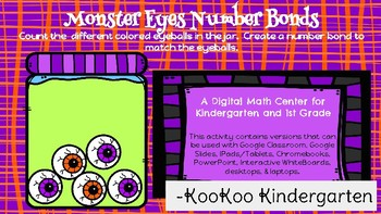 Monster Number Bonds-A Digital Math Center