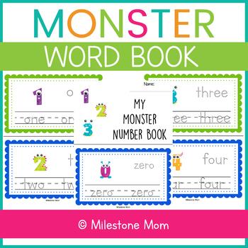 Monster Number Book
