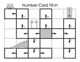Monster Number Card Fill-In
