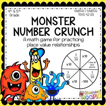 Monster Number Crunch: A Place Value Relationship Game
