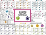 Monster Number Crunchers Addition Fact Card Set