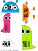 Monster Number Match - Tally Marks - Editable