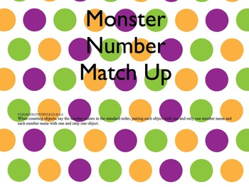 Monster Number Match Up