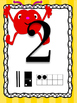 Monster Number Posters Numbers 0 - 10