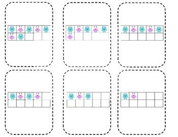 Monster Number Practice Set- Numbers 1-20