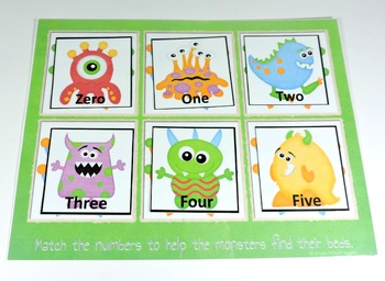 Monster Number Words Center
