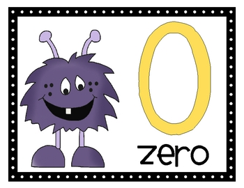 Monster Numbers 0-20