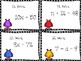Monster One Step Equations Task Cards