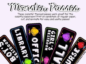 Monster Passes