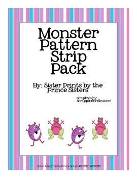 Monster Pattern Strips