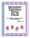 Monster Pattern Strips