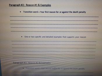 Monster Persuasive Essay Outline