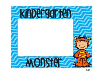 Monster Photo Frames