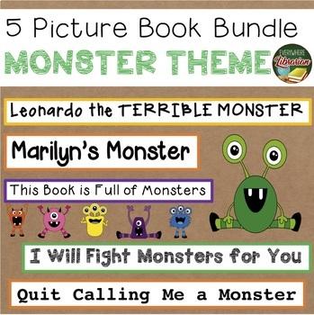 Monster Picture Book Bundle – 5 Titles – 55 Activities - HAPPY HALLOWEEN!