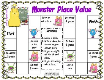 Monster Place Value - Common Core