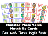 Place Value Matching Cards- Two and Three Digit