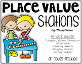 Place Value Stations - QR Codes Included!