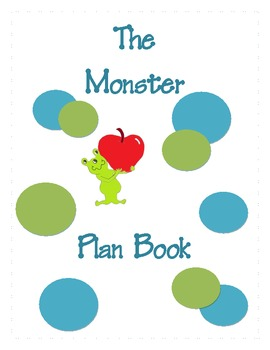 Monster Plan Book