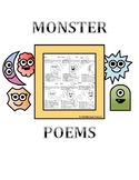 Monster Poems Worksheets
